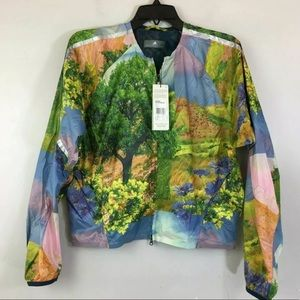 Adidas any Stella McCartney running  nature jacket